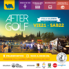 Flyer after golf